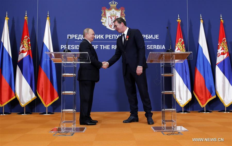SERBIA-BELGRADE-RUSSIA-PUTIN-VISIT
