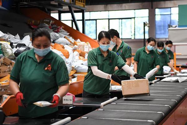 قطاع الخدمات اللوجستية في الصين يواصل التوسع المطرد