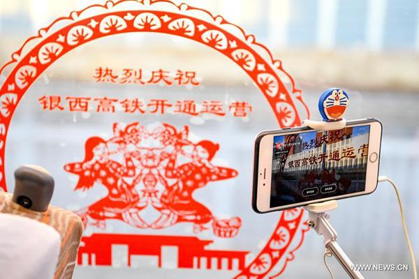 اتصال جميع الحواضر في شمال غربي الصين بشبكة السكك الحديد الوطنية فائقة السرعة مع افتتاح خط سكة حديد يينتشوان-شيآن فائقة السرعة