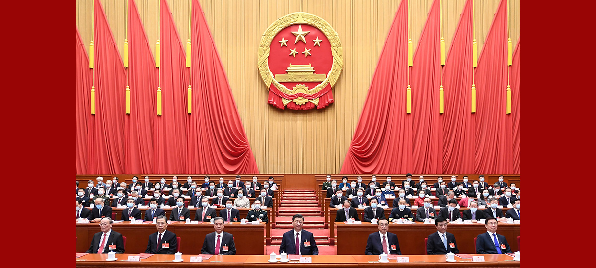أعلى هيئة تشريعية في الصين تعقد الجلسة الختامية للدورة السنوية