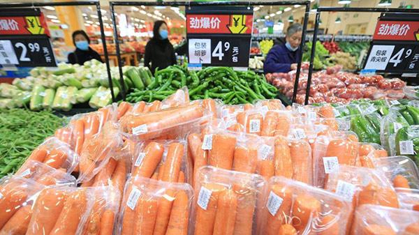 0.4% ارتفاعا لمؤشر أسعار المستهلكين بالصين في مارس