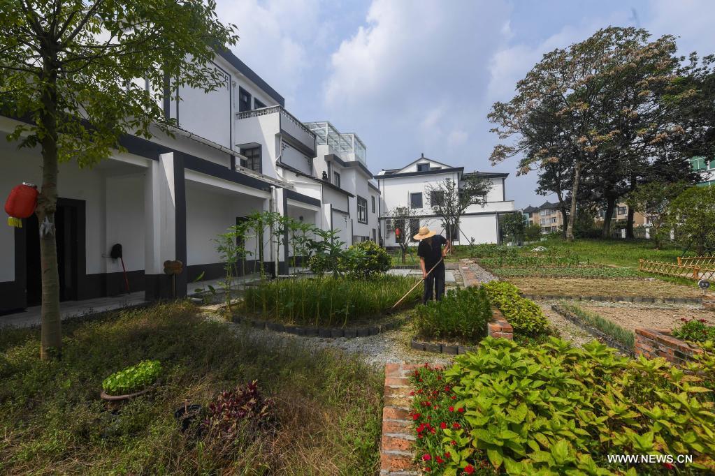 التنمية الريفية بشرقي الصين